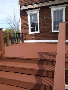Hudson, NY Solid Deck Stain